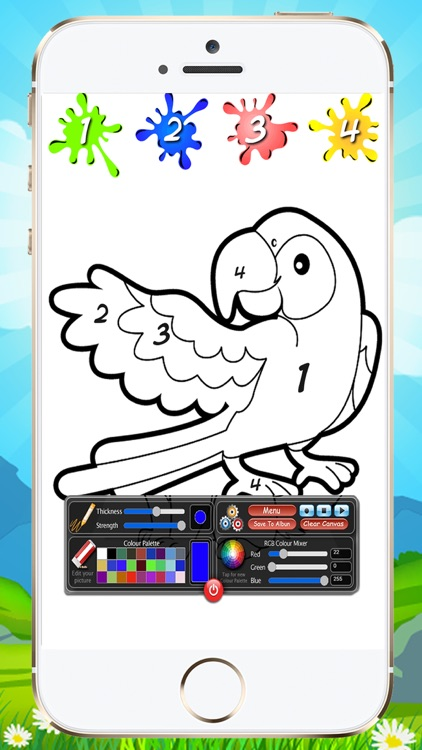 Coloring By Numbers For Kids screenshot-3