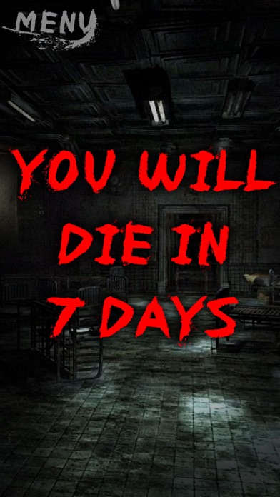 You will die in 7 days joke screenshot two