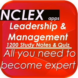 NCLEX Nursing Leadership & Management 1200 Notes & Quiz