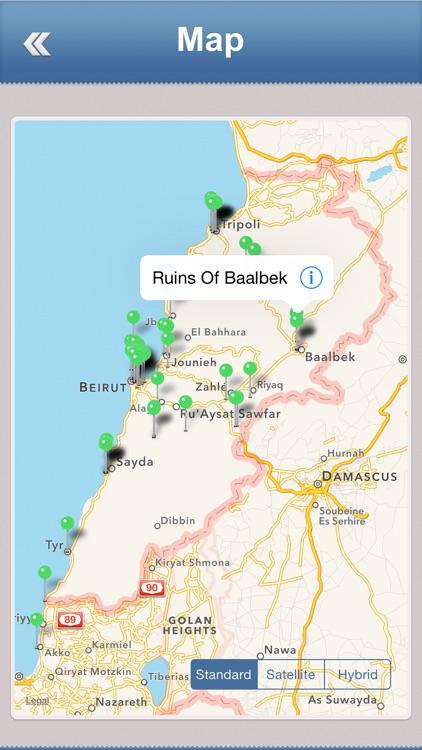 Lebanon Offline Travel Guide screenshot-3