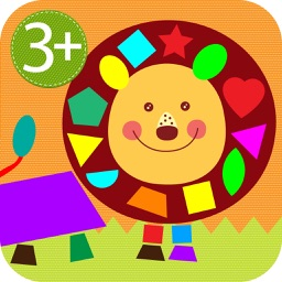 HugDug Shapes 3 - Early geometry shapes puzzles for toddlers and preschool kids full version.