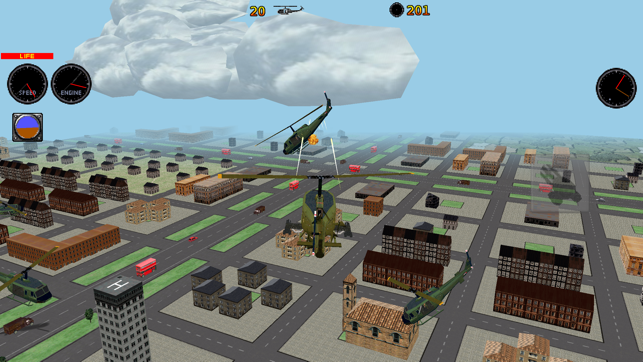 ‎RC Helicopter 3D simulator Screenshot