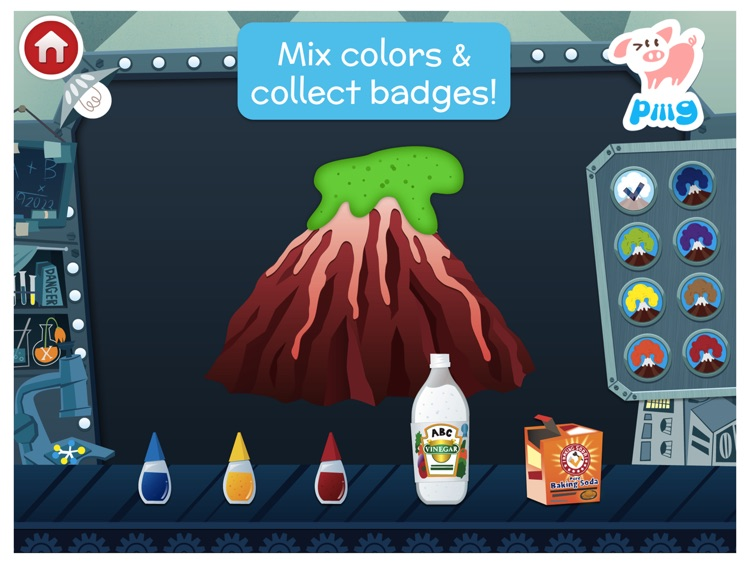 Piiig Labs: Science Experiments for Kids screenshot-0