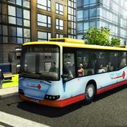 市公交车司机模拟器的3D - PRO客车驾驶和停车的游戏