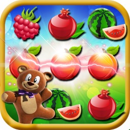 Crush Fruit Mania - Match 3