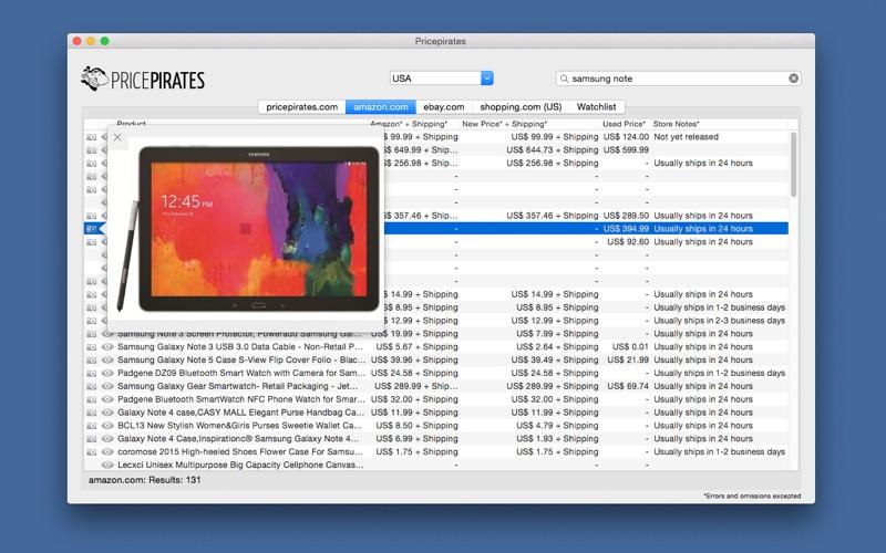 Pricepirates Screenshot