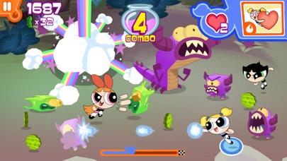 フリップアウト! – パワーパフ ガールズのパズル&バトルアクションゲームのおすすめ画像4