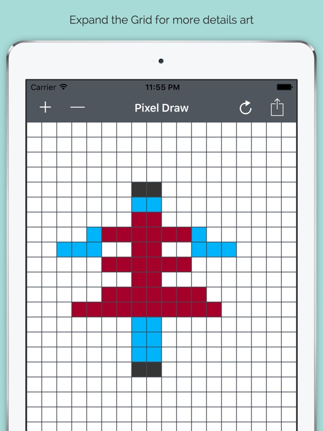 Make your Own Pixel Art for Free on the App Store