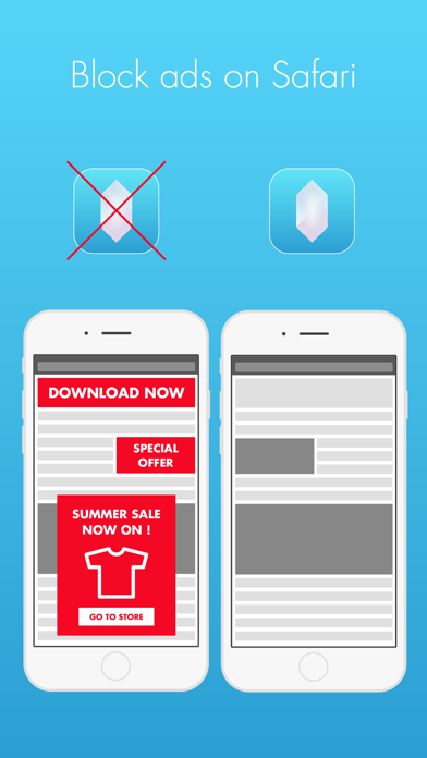 Screenshot for Crystal Adblock – Block unwanted ads! in Egypt App Store