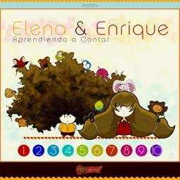 Elena y Enrique: Aprendiendo a Contar