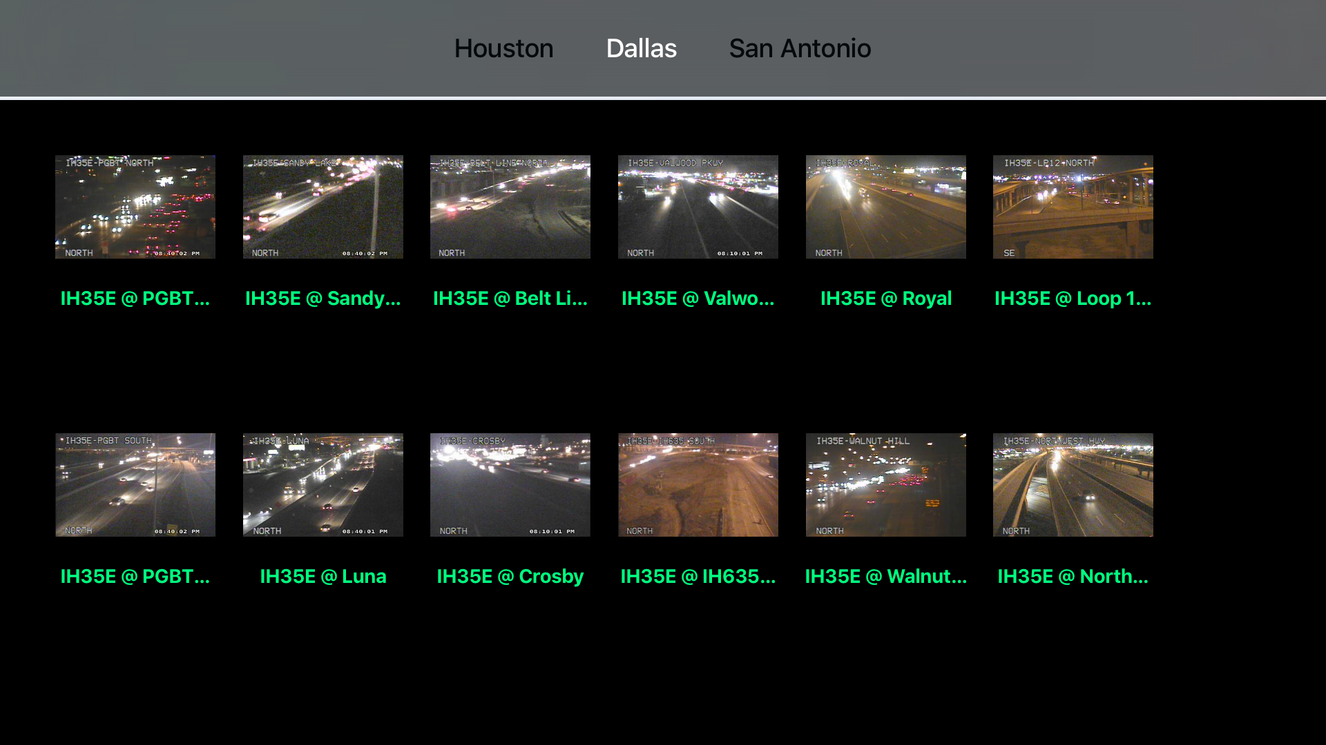 Texas NOAA Radar with Traffic Cameras 3D Pro screenshot 11