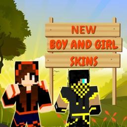 HD Boy & Girl Skins for Minecraft Pocket Edition