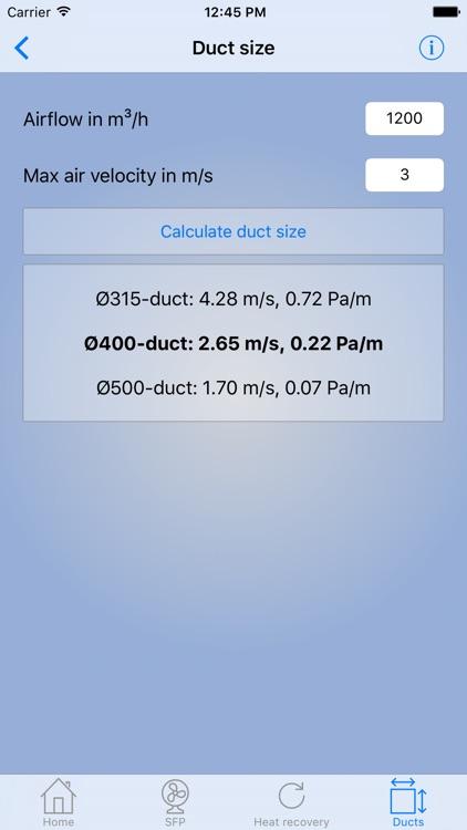HVAC-calculator screenshot-3