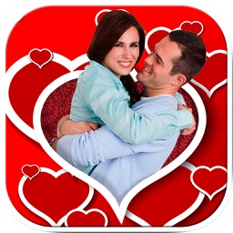 Love photo frames - Photomontage love frames to edit your romantic images