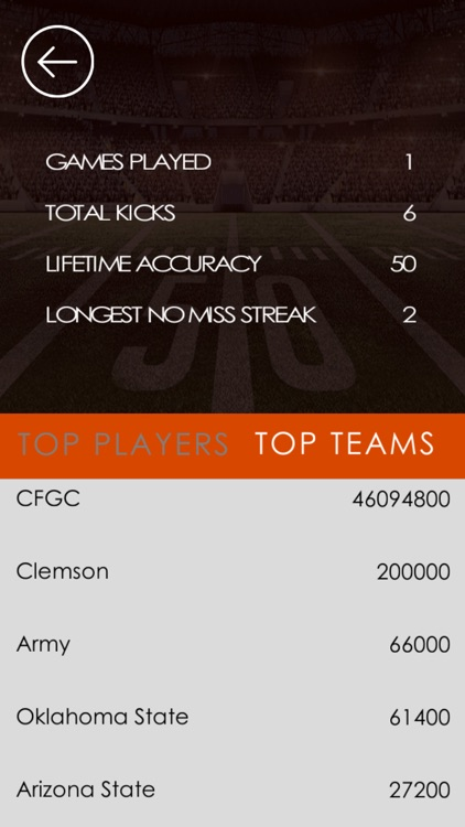 College Field Goal Challenge screenshot-4