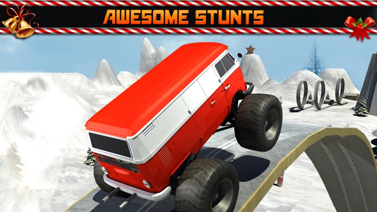 Christmas 3D stunt extreme Car Parking Mania games