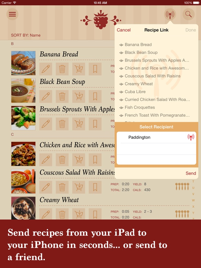 The recipe box your kitchen your recipes on the app store forumfinder Choice Image