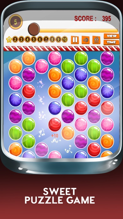 Yummy Juicy Candy Match: Sweet Factory Puzzle Game screenshot one