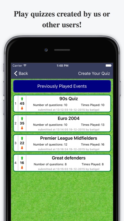 Ultimate Football Quiz For Premier League More By Vasileios Loumanis