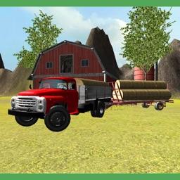 Classic Farm Truck 3D: Hay