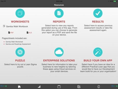 screenshot 5 for manufacturing lean roadmap and gemba walk