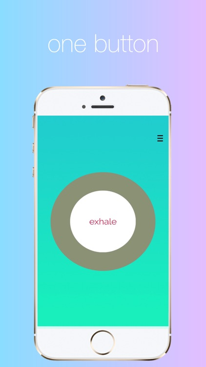 Breathe: Meditation, Mindfulness, and Stress Relief Button
