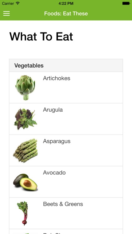 Raw Food Diet Guide screenshot-3