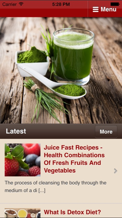 Detox Diet Tips - How to Detox the Healthy Way screenshot-0