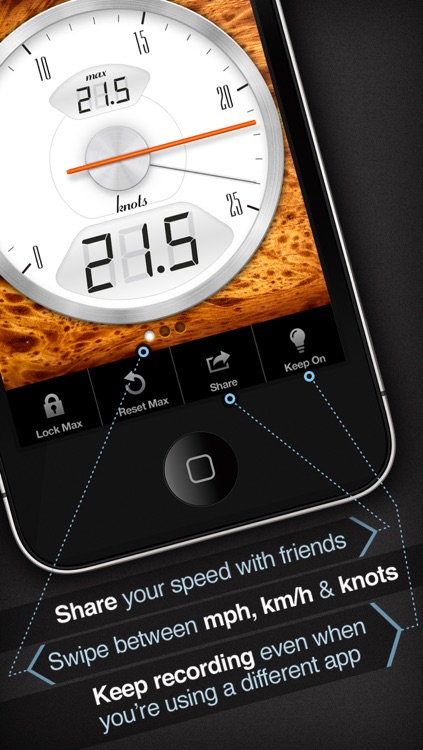Speedometer+ screenshot-3