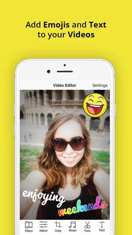 Video Snap Editor - Movie make.r & editor for Snapchat
