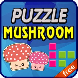 Puzzle Mushroom - Free Puzzle Game for Kids