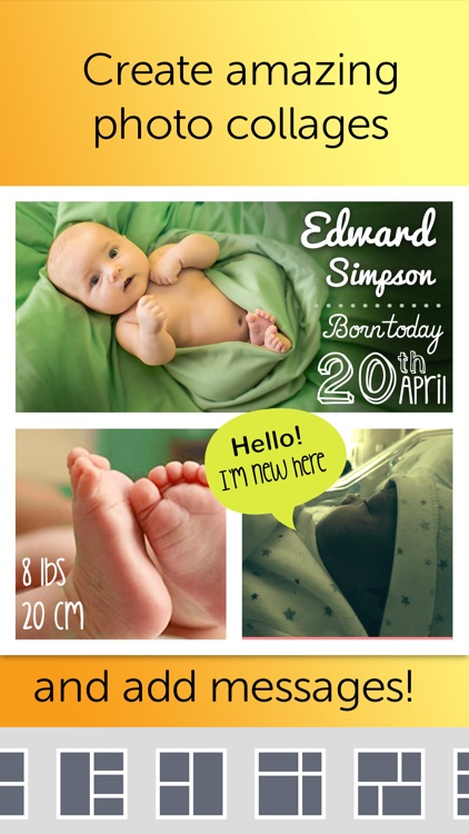 Baby Photo Editor - Pregnancy & Baby Milestone pics screenshot-3