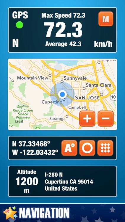 Speedometer App - GPS Speed Meter for Bike, Car, Bicycle