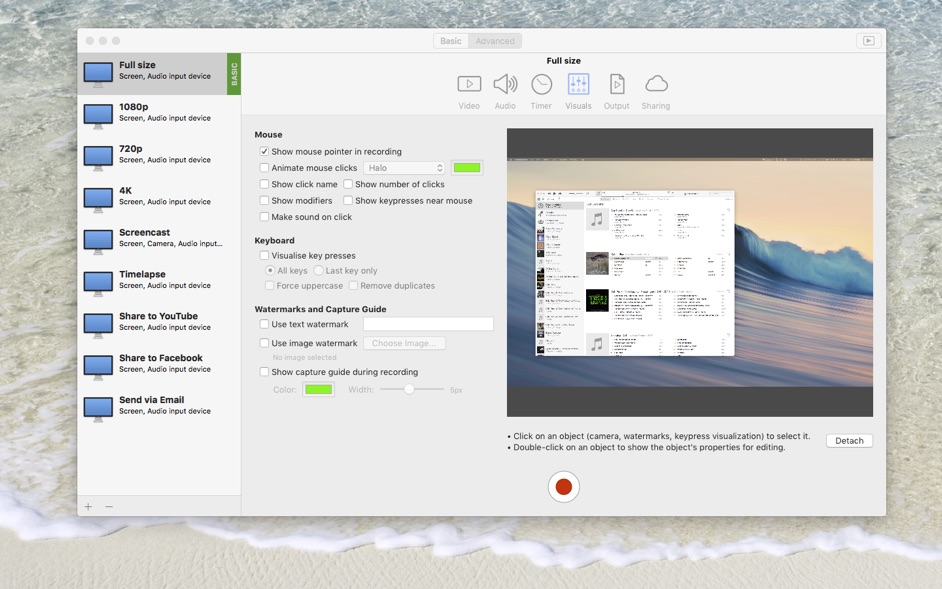 iShowU Instant 1 2 11 – Full-featured screen recording and