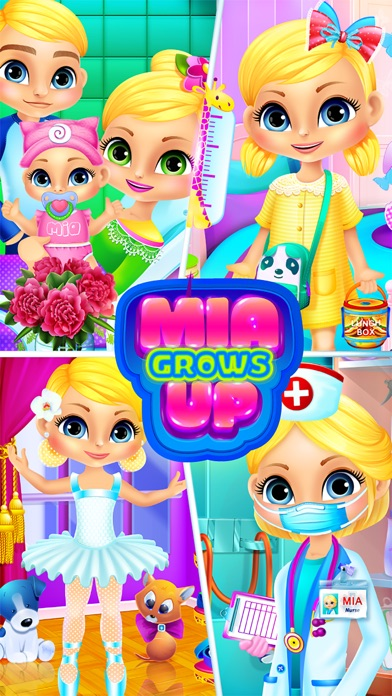 download Mia Grows Up - Baby Care Games & Kids Life Story apps 1