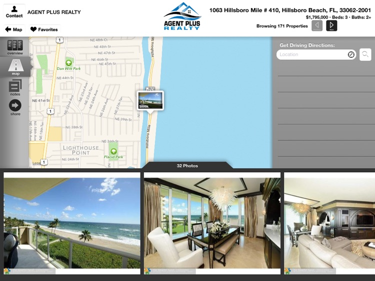 Agent Plus Realty - Search Homes for Sale for iPad screenshot-3