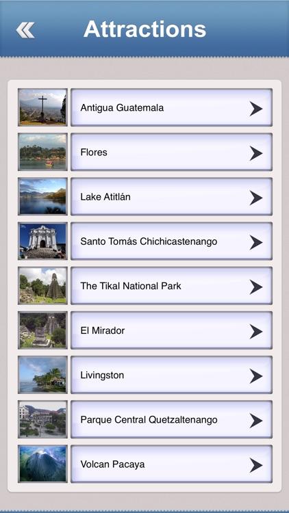 Guatemala Offline Travel Guide