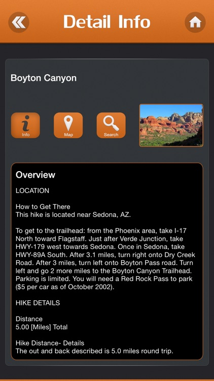 Hiking Sedona screenshot-2