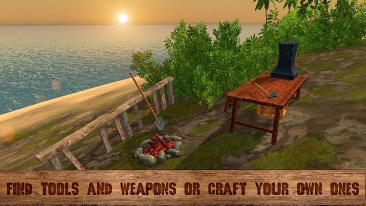 Pirate Island Survival Simulator 3D screenshot-3