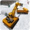 雪挖掘机模拟器3D - 重卡运营商的游戏