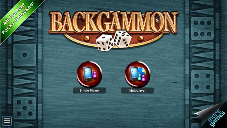 Backgammon HD screenshot-1