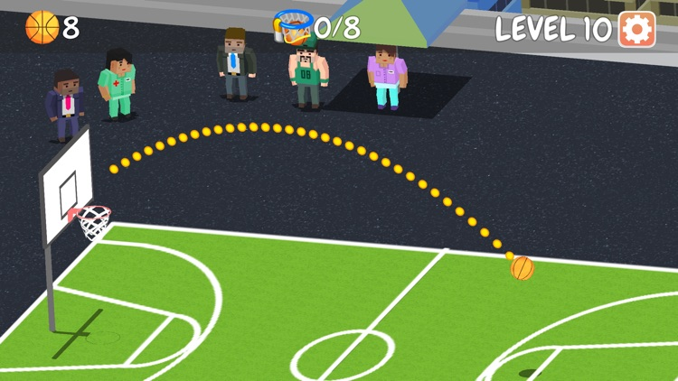 Basketball Master Challenge - Ball Throwing Champion screenshot-3