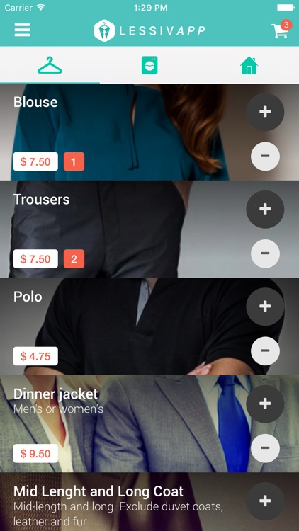 Lessivapp – Laundry and dry cleaning