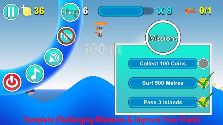 Space Surf : Shark Attack screenshot-3