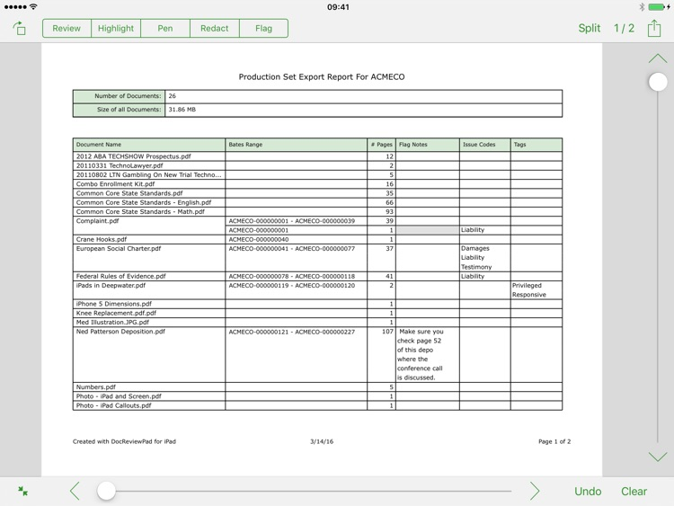 DocReviewPad - Review and Produce Documents screenshot-4