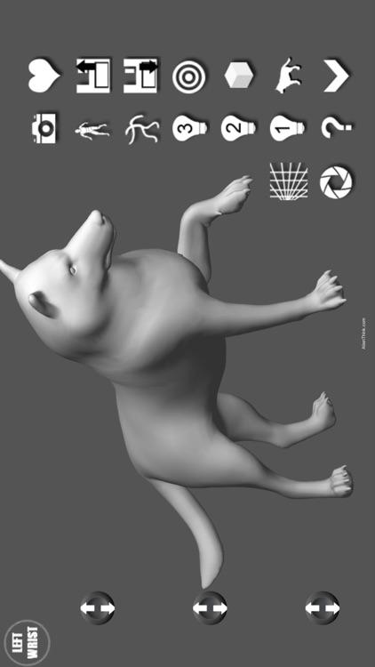 Wolf Pose Tool 3D screenshot-4