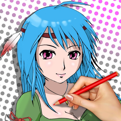 Learn to Draw Japan Anime iOS App