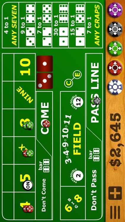 Casino Craps Pro 3D screenshot-4