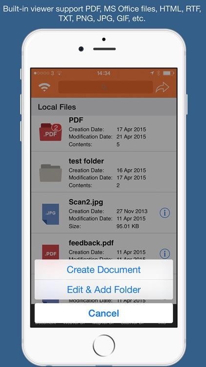 PDF Converter & Text Editor screenshot-4