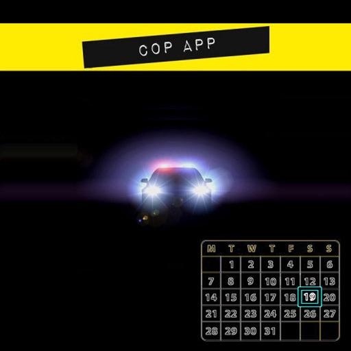 CopApp ! Calendar Schedule Repeating Shift App